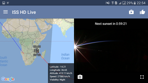 ISS Live Now Live HD Earth View and ISS Tracker v6.2.2 screenshots 13