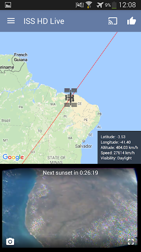 ISS Live Now Live HD Earth View and ISS Tracker v6.2.2 screenshots 7