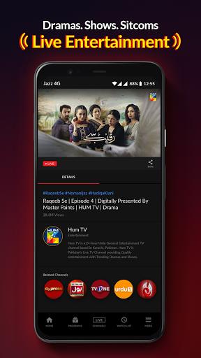 Jazz TV Watch PSL 6 News Turkish Dramas Sports v2.7.0 screenshots 10