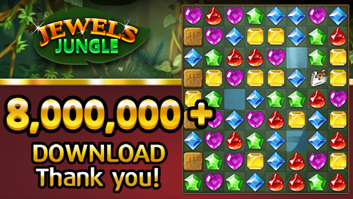 Jewels Jungle Match 3 Puzzle v1.9.1 screenshots 1