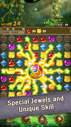 Jewels Jungle Match 3 Puzzle v1.9.1 screenshots 12