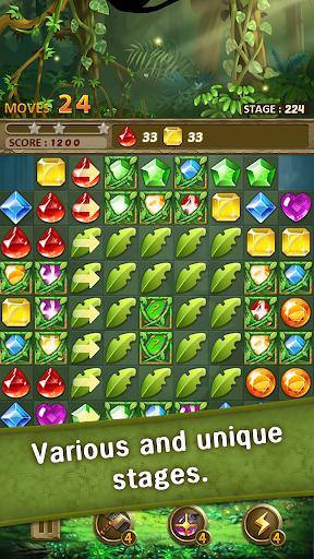 Jewels Jungle Match 3 Puzzle v1.9.1 screenshots 13