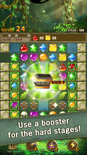Jewels Jungle Match 3 Puzzle v1.9.1 screenshots 15