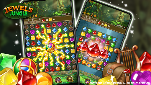 Jewels Jungle Match 3 Puzzle v1.9.1 screenshots 18