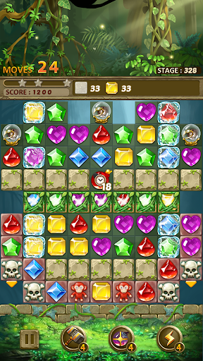 Jewels Jungle Match 3 Puzzle v1.9.1 screenshots 22