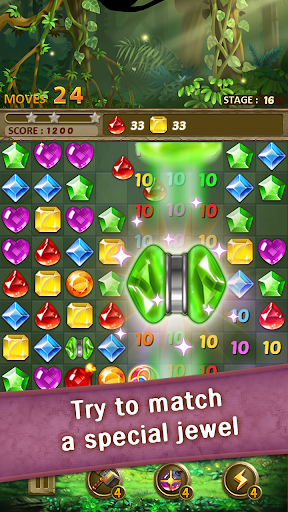 Jewels Jungle Match 3 Puzzle v1.9.1 screenshots 3