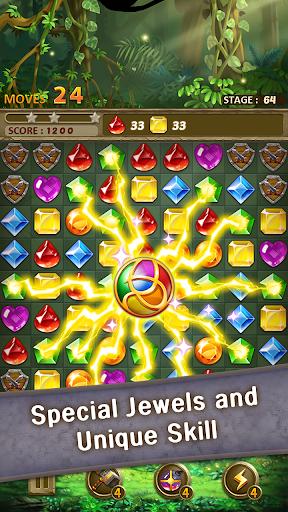 Jewels Jungle Match 3 Puzzle v1.9.1 screenshots 4