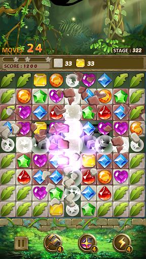 Jewels Jungle Match 3 Puzzle v1.9.1 screenshots 8