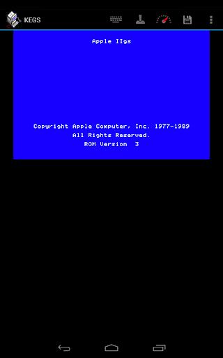 KEGS IIgs Emulator v0.71beta screenshots 1
