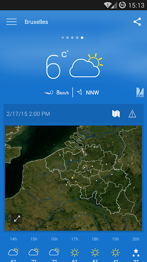 KMI – IRM .be Weather v2.9.5 screenshots 1