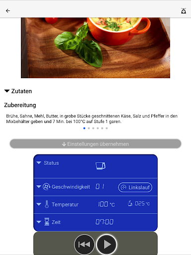 Kchenmaschine mit Kochfunktion KM2017Wi v1.1.4 screenshots 5