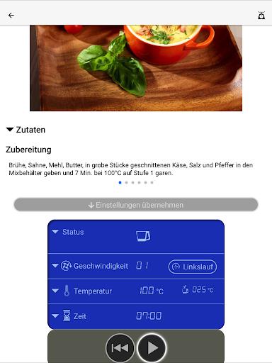 Kchenmaschine mit Kochfunktion KM2017Wi v1.1.4 screenshots 9