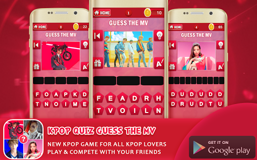 Kpop Quiz Guess The MV v1.3 screenshots 1