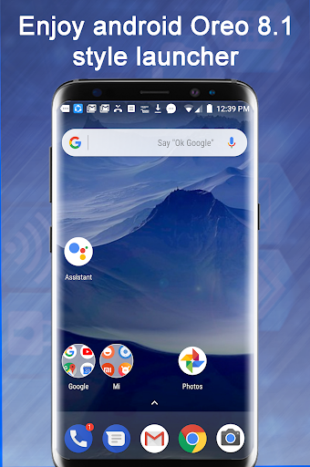 Launcher Oreo 8.1 v1.9 screenshots 1