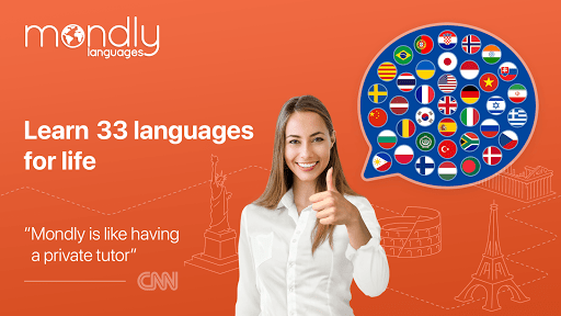 Learn 33 Languages Free – Mondly v7.10.0 screenshots 1