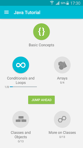 Learn Java v screenshots 1
