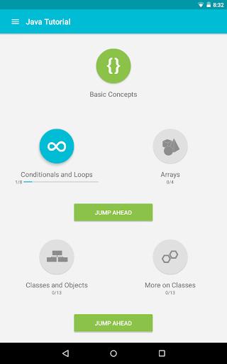 Learn Java v screenshots 10
