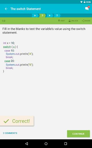 Learn Java v screenshots 11
