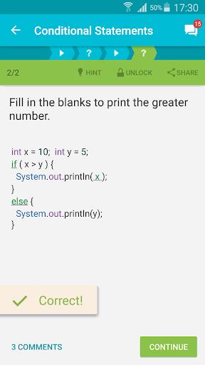 Learn Java v screenshots 2