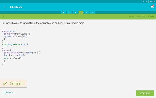 Learn Java v screenshots 7