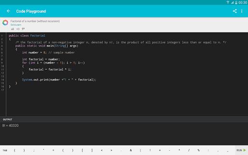 Learn Java v screenshots 8