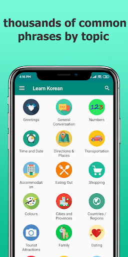 Learn Korean Offline v2.9.2 screenshots 1