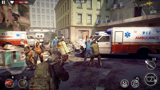 Left to Survive Dead Zombie Shooter. Apocalypse v4.5.0 screenshots 1