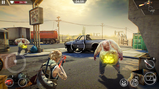 Left to Survive Dead Zombie Shooter. Apocalypse v4.5.0 screenshots 7