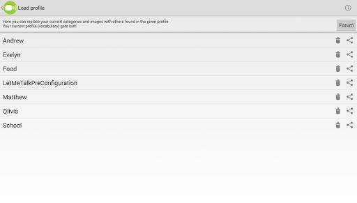 LetMeTalk Free AAC Talker v1.4.29 screenshots 9