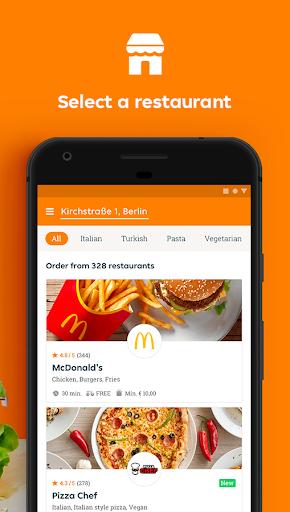 Lieferando.de – Order Food v7.4.0 screenshots 2