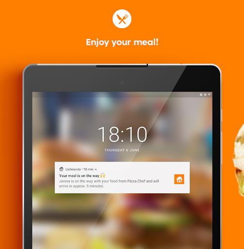 Lieferando.de – Order Food v7.4.0 screenshots 4