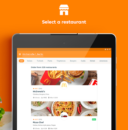 Lieferando.de – Order Food v7.4.0 screenshots 7