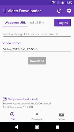Lj Video Downloader m3u8 mp4 mpd v1.0.67 screenshots 1