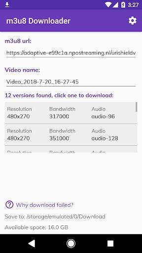 Lj Video Downloader m3u8 mp4 mpd v1.0.67 screenshots 2