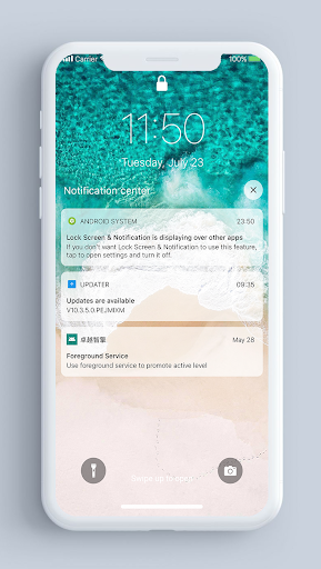 Lock Screen amp Notifications iOS 14 v2.2.4 screenshots 1
