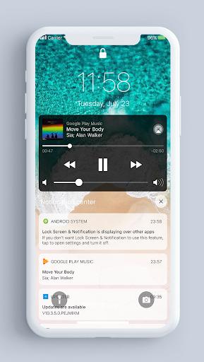 Lock Screen amp Notifications iOS 14 v2.2.4 screenshots 2