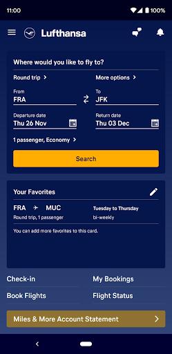 Lufthansa v8.5.0 screenshots 1