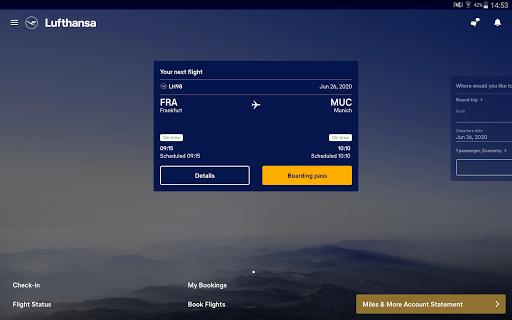 Lufthansa v8.5.0 screenshots 12