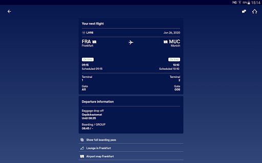 Lufthansa v8.5.0 screenshots 13
