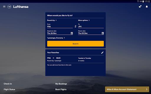 Lufthansa v8.5.0 screenshots 4