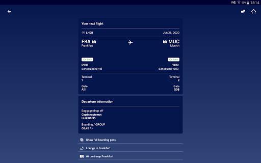 Lufthansa v8.5.0 screenshots 6