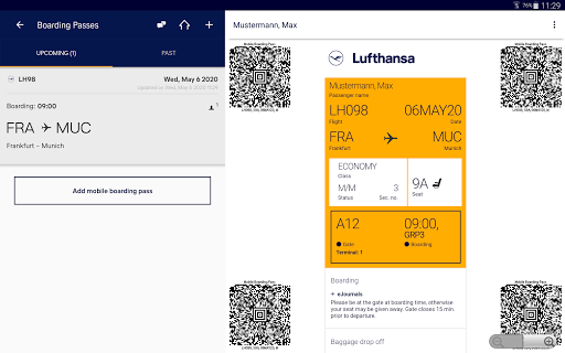 Lufthansa v8.5.0 screenshots 9