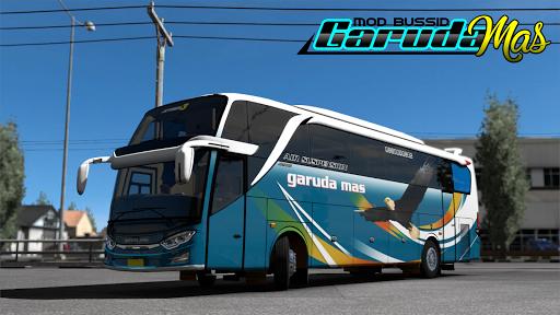 MOD Bus Garuda Mas v1.3 screenshots 1