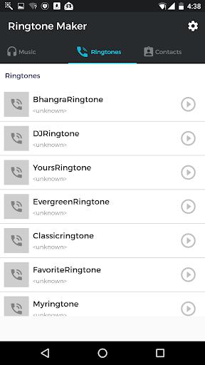 MP3 Cutter amp Ringtone Maker v4.2 screenshots 2