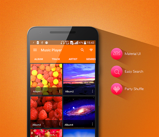 MP3 Player v1.4.4 screenshots 2
