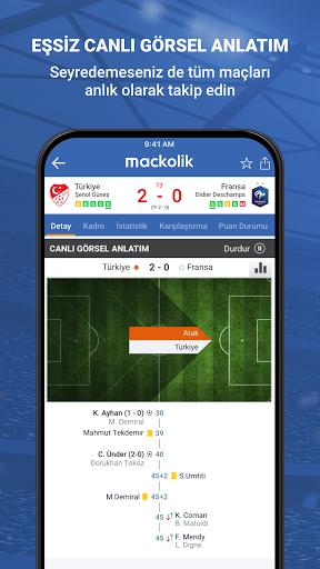 Mackolik Canl Sonular v7.2.3 screenshots 2