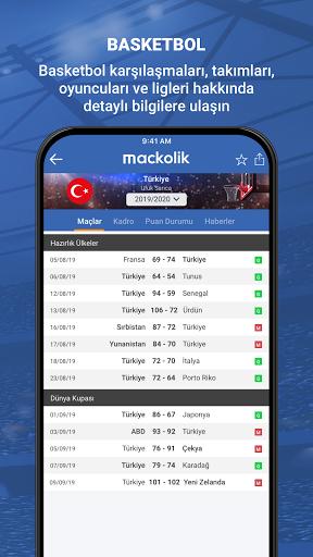 Mackolik Canl Sonular v7.2.3 screenshots 5