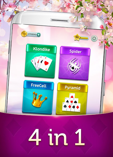 Magic Solitaire – Card Games Patience v2.11.11 screenshots 2