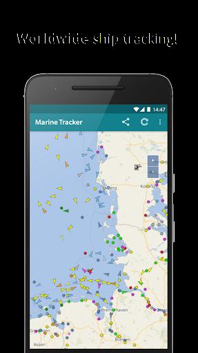 Marine Radar – Ship tracker v2.0 screenshots 2