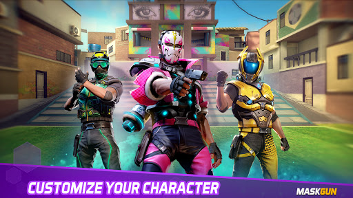 MaskGun Multiplayer FPS – Shooting Gun Games v2.701 screenshots 18
